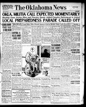 Primary view of object titled 'The Oklahoma News (Oklahoma City, Okla.), Vol. 10, No. 204, Ed. 1 Friday, May 26, 1916'.