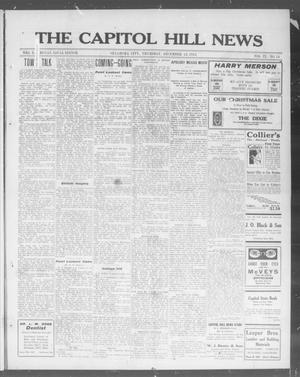 Primary view of object titled 'The Capitol Hill News (Oklahoma City, Okla.), Vol. 9, No. 14, Ed. 1 Thursday, December 18, 1913'.
