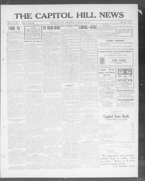 Primary view of object titled 'The Capitol Hill News (Oklahoma City, Okla.), Vol. 9, No. 7, Ed. 1 Thursday, October 30, 1913'.