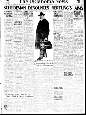 Primary view of object titled 'The Oklahoma News (Oklahoma City, Okla.), Vol. 12, No. 102, Ed. 1 Friday, January 25, 1918'.
