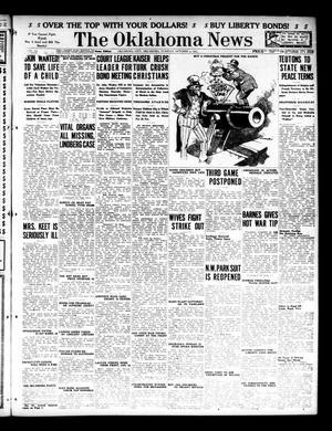 Primary view of object titled 'The Oklahoma News (Oklahoma City, Okla.), Vol. 12, No. 6, Ed. 1 Tuesday, October 9, 1917'.
