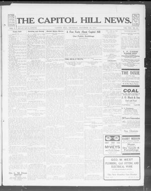 Primary view of object titled 'The Capitol Hill News. (Capitol Hill, Okla.), Vol. 8, No. 15, Ed. 1 Thursday, December 26, 1912'.