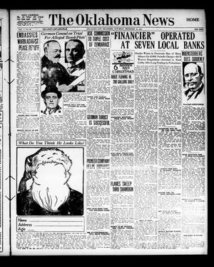 Primary view of object titled 'The Oklahoma News (Oklahoma City, Okla.), Vol. 11, No. 66, Ed. 1 Saturday, December 16, 1916'.