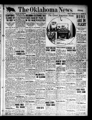 Primary view of object titled 'The Oklahoma News (Oklahoma City, Okla.), Vol. 11, No. 265, Ed. 1 Thursday, August 2, 1917'.