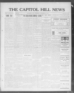 Primary view of object titled 'The Capitol Hill News (Oklahoma City, Okla.), Vol. 9, No. 10, Ed. 1 Thursday, November 20, 1913'.