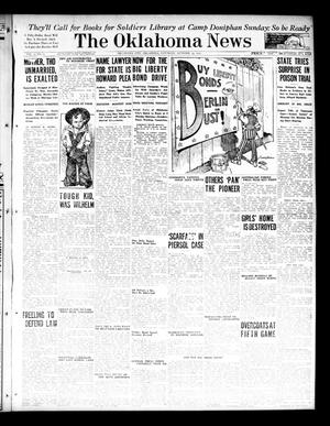 Primary view of object titled 'The Oklahoma News (Oklahoma City, Okla.), Vol. 12, No. 10, Ed. 1 Saturday, October 13, 1917'.