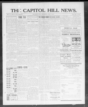 Primary view of object titled 'The Capitol Hill News. (Oklahoma City, Okla.), Vol. 8, No. 42, Ed. 1 Thursday, July 3, 1913'.