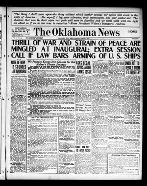 Primary view of object titled 'The Oklahoma News (Oklahoma City, Okla.), Vol. 11, No. 135, Ed. 1 Monday, March 5, 1917'.