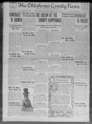 Primary view of object titled 'The Oklahoma County News (Jones City, Okla.), Vol. 15, No. 9, Ed. 1 Friday, July 2, 1915'.