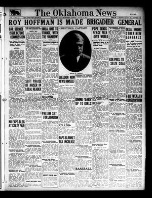 Primary view of object titled 'The Oklahoma News (Oklahoma City, Okla.), Vol. 11, No. 275, Ed. 1 Tuesday, August 14, 1917'.