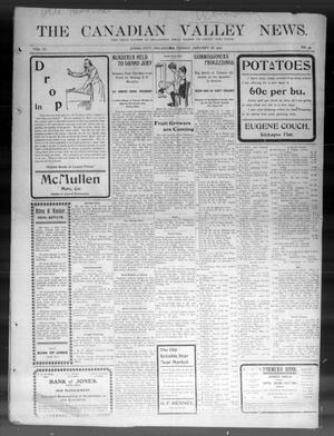Primary view of The Canadian Valley News. (Jones City, Okla.), Vol. 6, No. 35, Ed. 1 Friday, January 18, 1907