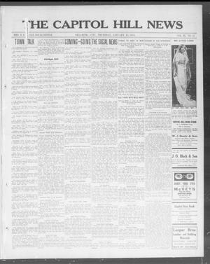 Primary view of object titled 'The Capitol Hill News (Oklahoma City, Okla.), Vol. 9, No. 18, Ed. 1 Thursday, January 15, 1914'.
