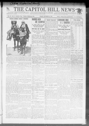 Primary view of object titled 'The Capitol Hill News (Oklahoma City, Okla.), Vol. 15, No. 3, Ed. 1 Friday, October 26, 1917'.