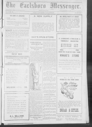 Primary view of object titled 'The Earlsboro Messenger. (Earlsboro, Okla.), Vol. 1, No. 40, Ed. 1 Thursday, February 20, 1913'.
