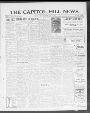 Primary view of object titled 'The Capitol Hill News. (Oklahoma City, Okla.), Vol. 8, No. 46, Ed. 1 Thursday, July 31, 1913'.