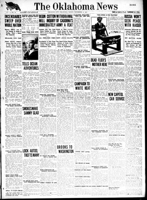 Primary view of object titled 'The Oklahoma News (Oklahoma City, Okla.), Vol. 12, No. 29, Ed. 1 Friday, November 2, 1917'.