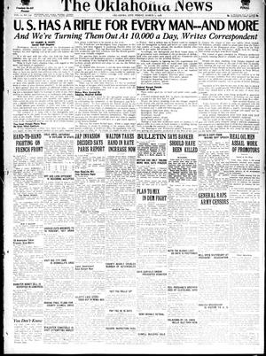 Primary view of object titled 'The Oklahoma News (Oklahoma City, Okla.), Vol. 12, No. 132, Ed. 1 Friday, March 1, 1918'.