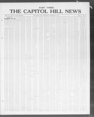Primary view of object titled 'The Capitol Hill News (Oklahoma City, Okla.), Vol. 9, No. 5, Ed. 3 Thursday, October 16, 1913'.