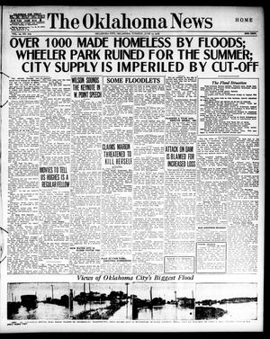 Primary view of object titled 'The Oklahoma News (Oklahoma City, Okla.), Vol. 10, No. 219, Ed. 1 Tuesday, June 13, 1916'.
