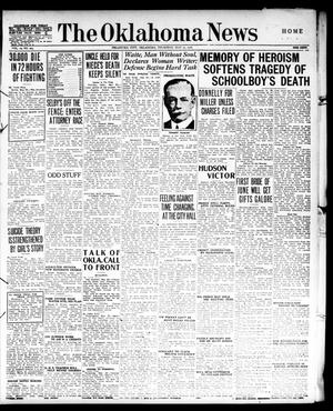 Primary view of object titled 'The Oklahoma News (Oklahoma City, Okla.), Vol. 10, No. 203, Ed. 1 Thursday, May 25, 1916'.