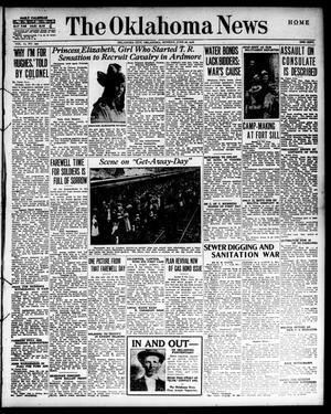 Primary view of object titled 'The Oklahoma News (Oklahoma City, Okla.), Vol. 10, No. 230, Ed. 1 Monday, June 26, 1916'.
