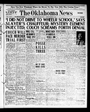 Primary view of object titled 'The Oklahoma News (Oklahoma City, Okla.), Vol. 11, No. 96, Ed. 1 Friday, January 19, 1917'.