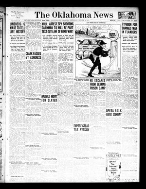 Primary view of object titled 'The Oklahoma News (Oklahoma City, Okla.), Vol. 12, No. 13, Ed. 1 Wednesday, October 17, 1917'.