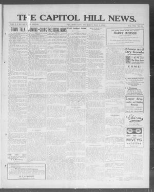 Primary view of object titled 'The Capitol Hill News. (Oklahoma City, Okla.), Vol. 8, No. 34, Ed. 1 Thursday, May 8, 1913'.