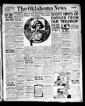 Primary view of object titled 'The Oklahoma News (Oklahoma City, Okla.), Vol. 11, No. 67, Ed. 1 Monday, December 18, 1916'.