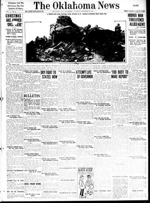 Primary view of object titled 'The Oklahoma News (Oklahoma City, Okla.), Vol. 12, No. 69, Ed. 1 Tuesday, December 18, 1917'.