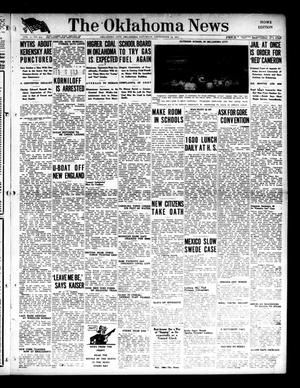 Primary view of object titled 'The Oklahoma News (Oklahoma City, Okla.), Vol. 11, No. 304, Ed. 1 Saturday, September 15, 1917'.