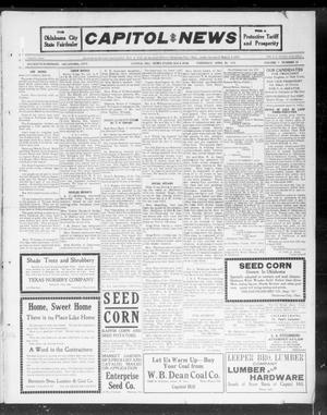 Primary view of object titled 'Capitol Hill News (Capitol Hill, Okla.), Vol. 7, No. 32, Ed. 1 Thursday, April 25, 1912'.