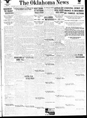 Primary view of object titled 'The Oklahoma News (Oklahoma City, Okla.), Vol. 12, No. 122, Ed. 1 Monday, February 18, 1918'.