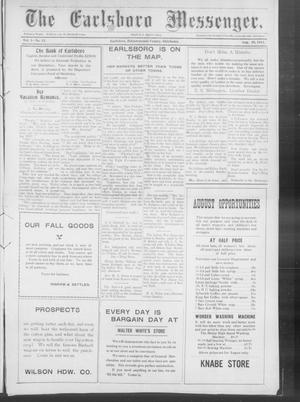 Primary view of object titled 'The Earlsboro Messenger. (Earlsboro, Okla.), Vol. 1, No. 12, Ed. 1 Thursday, August 29, 1912'.