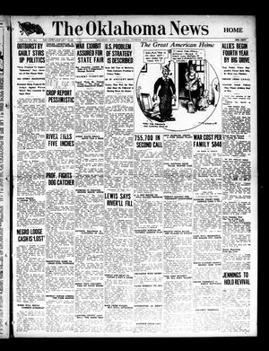 Primary view of object titled 'The Oklahoma News (Oklahoma City, Okla.), Vol. 11, No. 263, Ed. 1 Tuesday, July 31, 1917'.
