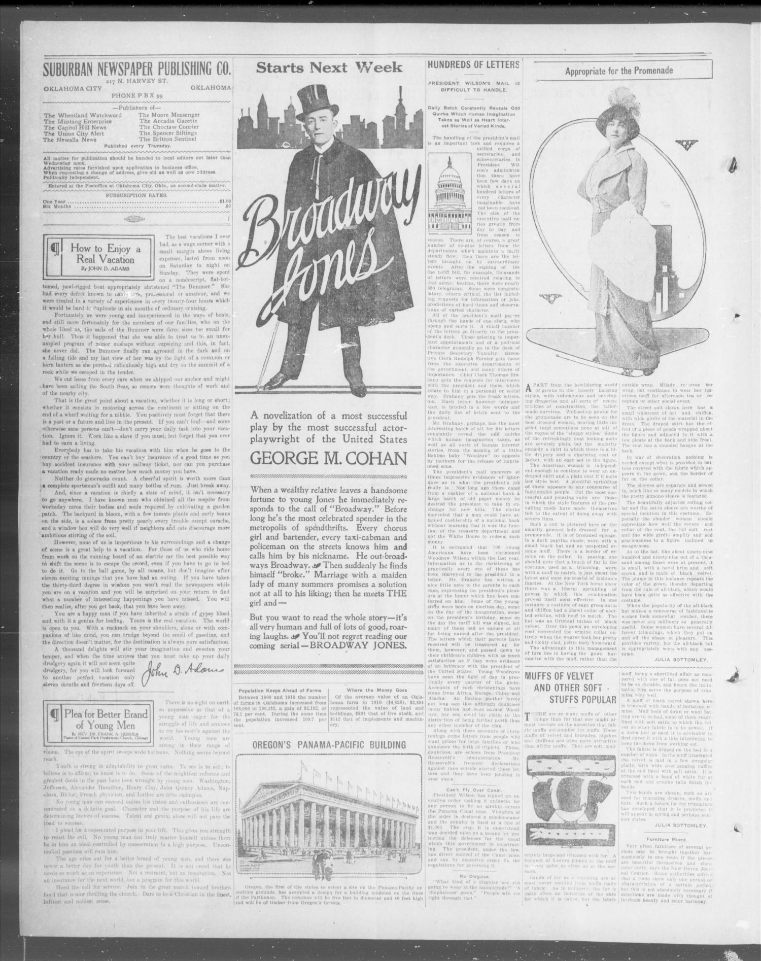 The Capitol Hill News (Oklahoma City, Okla.), Vol. 9, No. 17, Ed. 1 Thursday, January 8, 1914                                                                                                      [Sequence #]: 4 of 8
