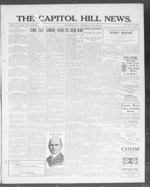 Primary view of object titled 'The Capitol Hill News. (Oklahoma City, Okla.), Vol. 8, No. 37, Ed. 1 Thursday, May 29, 1913'.