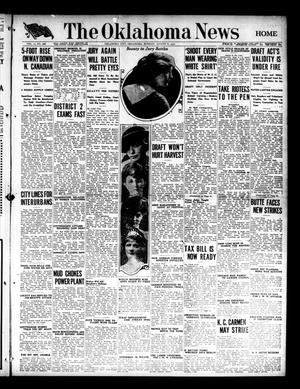 Primary view of object titled 'The Oklahoma News (Oklahoma City, Okla.), Vol. 11, No. 268, Ed. 1 Monday, August 6, 1917'.
