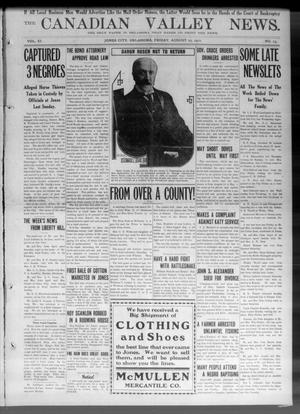 Primary view of object titled 'The Canadian Valley News. (Jones City, Okla.), Vol. 11, No. 15, Ed. 1 Friday, August 25, 1911'.