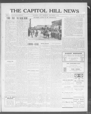 Primary view of object titled 'The Capitol Hill News (Oklahoma City, Okla.), Vol. 9, No. 12, Ed. 1 Thursday, December 4, 1913'.