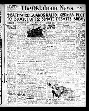 Primary view of object titled 'The Oklahoma News (Oklahoma City, Okla.), Vol. 11, No. 112, Ed. 1 Wednesday, February 7, 1917'.
