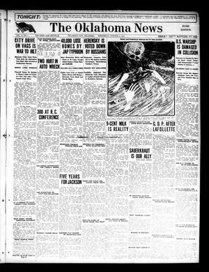 Primary view of object titled 'The Oklahoma News (Oklahoma City, Okla.), Vol. 12, No. 1, Ed. 1 Wednesday, October 3, 1917'.