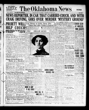 Primary view of object titled 'The Oklahoma News (Oklahoma City, Okla.), Vol. 11, No. 97, Ed. 1 Saturday, January 20, 1917'.