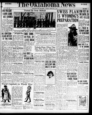 Primary view of object titled 'The Oklahoma News (Oklahoma City, Okla.), Vol. 10, No. 118, Ed. 1 Tuesday, February 15, 1916'.