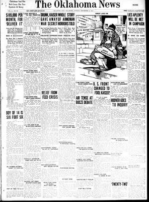Primary view of object titled 'The Oklahoma News (Oklahoma City, Okla.), Vol. 12, No. 68, Ed. 1 Monday, December 17, 1917'.