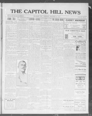 Primary view of object titled 'The Capitol Hill News (Oklahoma City, Okla.), Vol. 9, No. 15, Ed. 1 Thursday, December 25, 1913'.
