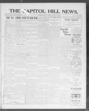 Primary view of object titled 'The Capitol Hill News. (Oklahoma City, Okla.), Vol. 8, No. 36, Ed. 1 Thursday, May 22, 1913'.