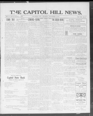Primary view of object titled 'The Capitol Hill News. (Oklahoma City, Okla.), Vol. 8, No. 51, Ed. 1 Thursday, September 4, 1913'.