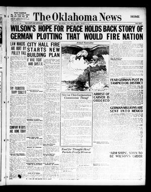 Primary view of object titled 'The Oklahoma News (Oklahoma City, Okla.), Vol. 11, No. 133, Ed. 1 Friday, March 2, 1917'.