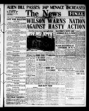 Primary view of The Oklahoma News (Oklahoma City, Okla.), Vol. 11, No. 110, Ed. 1 Monday, February 5, 1917